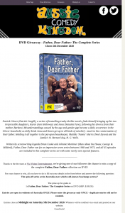 Aussie Comedy Kingdom – Win a Copy of The Complete Father