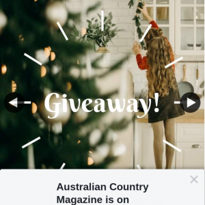 Australian Country Magazine – Some Amazing Prizes