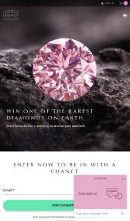 Australian Diamond Portfolio – Win a Stunning Australian Pink Diamond (prize valued at $8,900)