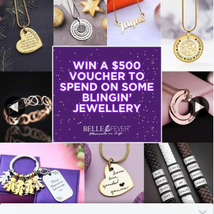 Belle Fever – Win a $500 Gift Voucher