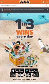 BWS Cooler 2.0 Instant – Win an Instant (prize valued at $7,158,056)