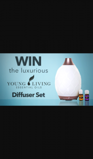 Channel 7 – Sunrise – Win a Young Living Desert Mist Essential Oil Diffuser Set Valued at $139