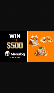 Channel 9 – Today Show – Win One of Five Menulog Vouchers