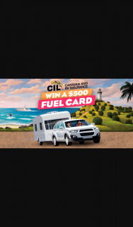 CIL Insurance – Win One of Five $500 Fuel Cards Request Quote (prize valued at $2,500)