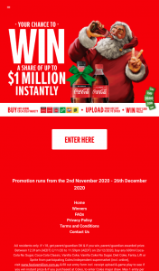 Coles-Ind – Win a Share of Up to $1 Million Dollars Instantly (prize valued at $1,797,400)