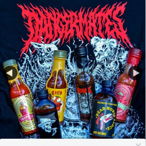 Dangermates Chilli – Win Hot Sauces and Shirt