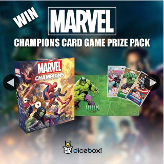 Dicebox – Win an Amazing Marvel Champions Prize Pack