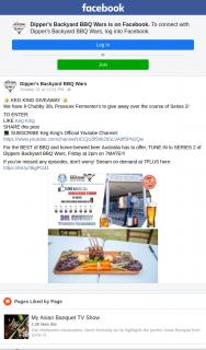 Dipper's Backyard BBQ Wars – Win a Keg King