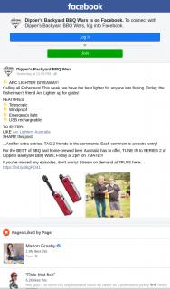 Dipper's Backyard BBQ Wars – Win an Arc Lighter
