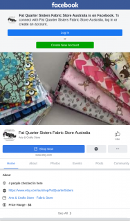Fat Quarter Sisters – Win this Cute Little Off Cut Set (prize valued at $1)