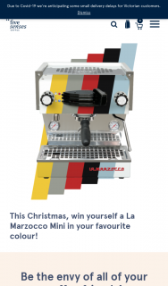 Five Senses Coffee – Win this Five Senses Ultimate Home Barista Kit and Santa Will Be Struggling to Fit Everything In His Sack (prize valued at $8,064)