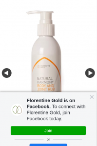 Florentine Gold – Win a 200ml Bottle of Natural Harmony Body and Joint Rub