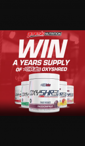 Genesis – Win a Years Supply of Ehplabs Oxyshred