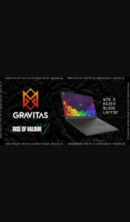Gravitas – Win a Razor Blade 15rtx 2070 Gaming Laptop