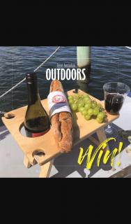 Great Australian Outdoors & Francesca Ricardo – Win Folding Picnic Table (prize valued at $110)