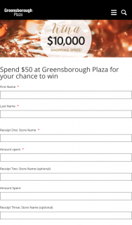 Greensborough Shopping Centre – Win $10000 Shopping Spree (prize valued at $10,000)
