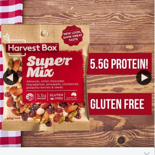 Harvest Box – Win a Whole Box of Our Super Mix Just React