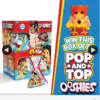 Headstart Toys – Win this Box of Dc Pop and Top Ooshies