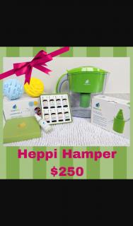 Heppi – Win a Heppi Hamper Valued at $250 (prize valued at $250)