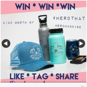 Herd That – Win Merch Pack (prize valued at $140)