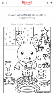 Kidstuff – Sylvanian Families Colouring Competition – Win One (1) of Four (5) Prize Packs (prize valued at $123.9)
