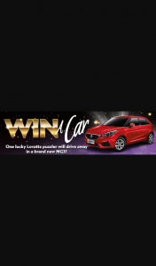 Lovatts – Win a Car Competition