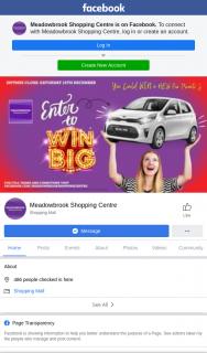 Meadowbrook Shopping Centre – Shop to – Win a Kia Picanto