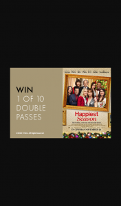 Melbourne's GPO – Win 1 of 10 Double Passes to Happiest Season