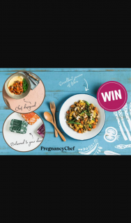 Mum Central – Win Pregnancy Chef Ready Made Meals for a Month (prize valued at $327)