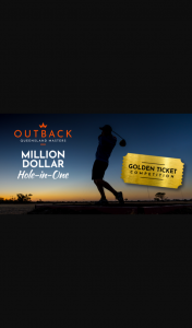 OuTBack Queensland Masters – Win The Ultimate Money Can't Buy Experience for The OuTBack Queensland Masters
