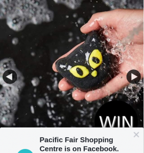 Pacific Fair Shopping Centre – Win a $100 Lush Gift Voucher (prize valued at $100)