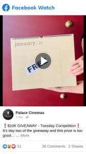 Palace Cinemas – Win a Year of Free Movies at Palace Cinemas Melbourne With an Exclusive VIP Membership
