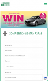Pharmacy Best Buys – Win a Major Prize of One (1) Mazda2 Pure Manual (prize valued at $5,000)