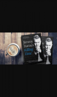 Plusrewards – Win a Copy of Killing Time By Jimmy Barnes