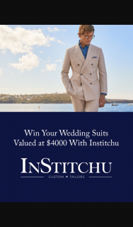 POLKA DOT BRIDE – Win Your Wedding Suits Valued at $4000 (prize valued at $4,000)