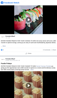 Portside Wharf – Win a $50 Voucher to Spend at Ginga