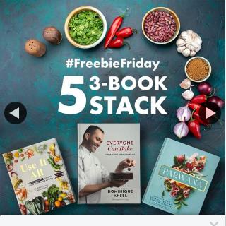 QBD Books – Win One of Five Cookbook Bundles