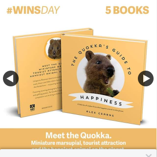 QBD Books – Win One of Five Copies of Quokka's Guide to Happiness