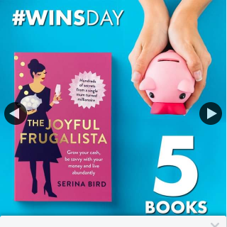 QBD Books – Win One of Five Copies of The Joyful Frugalista