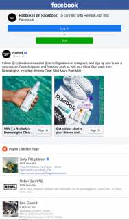Reebok & Dermalogica – Win a New Season Reebok Apparel and Footwear Pack As Well As a Clear Start Pack From Dermalogica (prize valued at $630)