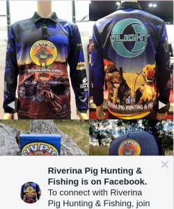 Riverina Pig Hunting & Fishing – Win Merch Pack Giveaway
