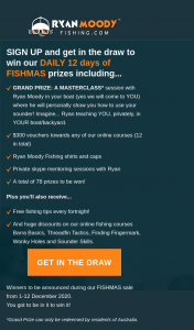 Ryan Moody Fishing – Win Our Daily 12 Days of Fishmas Prizes Including..