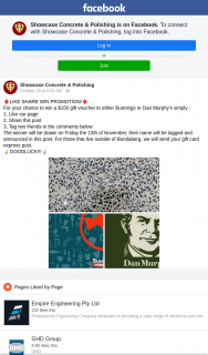 Showcase Concrete & Polishing – Win a $150 Gift Voucher to Either Bunnings Or Dan Murphy'sundefinedSimplyundefined (prize valued at $150)