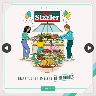 Sizzler – Win One of Ten Ltd Edition Nostalgia Merchandise Packs