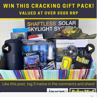 Solar Mad – Over $500 Worth of Products (prize valued at $500)