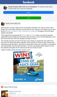 South Aussie With Cosi – Win a $500 Asics Voucher Courtesy of The City-Bay 2020?