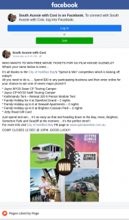 """South Aussie With Cosi – Win"""" Competition Which Is Kicking Off Today"""