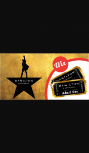 Stack magazine – Win a Double Pass to See Hamilton