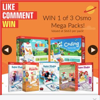 Stack magazine – Win One of Three Mega Osmo Prize Packs