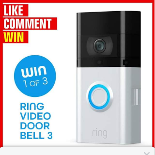 Stack magazine – Win One of Three Ring Video Doorbell 3 Units